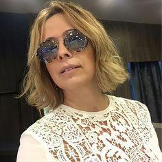 Bom domingo! Óculos da #Gucci para a @tallisjoias do @iguatemifortaleza. Amei! #estiloiguatemi #andreafialho