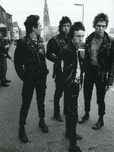 The Clash, Belfast, 1977
