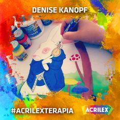 #Acrilexterapia por Denise Kanopf