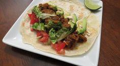 """Vegan Jackfruit """"Carnitas"""" Tacos + Sweet Sunshine Sauce giveaway!"""
