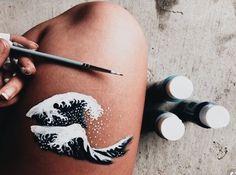 body art michael b jordan is so fucking hot in the black panther i swear to god Leg Painting, Image Painting, Skin Paint, Leg Art, Michael B Jordan, Aesthetic Painting, Artist Aesthetic, Body Art, Body Paint Art