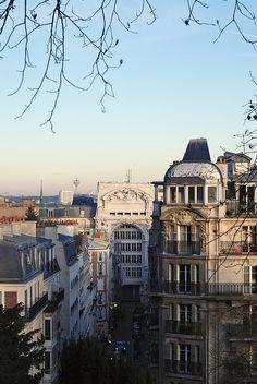 Montmartre Quarter, rue André Del Sarte, Paris.
