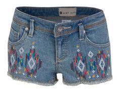 Roxy Girl Blaze Embroidered Short