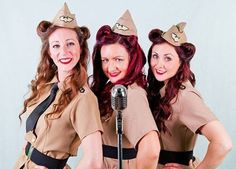 When you think about 1940's Wartime Hits, you always think of The Andrews Sisters!  As well as hiring an Andrews Sisters Tribute act, the girls can perform many other classic Wartime hits from the forties, and are able to mix in remarkable renditions of 1950's & 1960's hits, featuring fabulous costume changes and vintage choreography along the way.