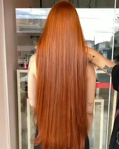 Brown Lace Front Wig with Black Roots Long Straight Honey Blonde Synthetic Wig for Women Natural Red Hair, Long Red Hair, Hair Color Auburn, Hair Color Dark, Ginger Hair Color, Ginger Hair Dyed, Beautiful Red Hair, Long Hair Video, Blonde Hair With Highlights