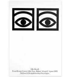 Olle Eksell print ögonkakao