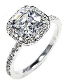 Cushion-Cut Diamond Engagement Ring from OGI Ltd.