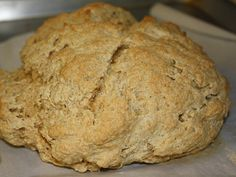 5 Ingredients: Whole-Wheat Irish Soda Bread for St Patricks Day menu-there will be bread!