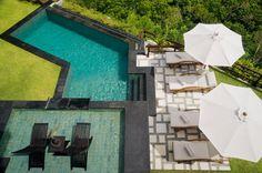 Villa Starlight - #luxurytravel in #Bali #Indonesia #tropical #outdoor #bathrooms #luxuryvillarentals