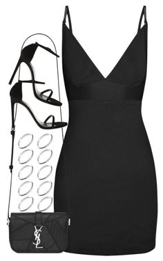 """Untitled #69"" by rlbabe ❤ liked on Polyvore featuring dMondaine, Yves Saint Laurent and ASOS #classyoutfits"