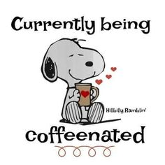 Snoopy Love, Charlie Brown And Snoopy, Snoopy And Woodstock, Coffee Is Life, I Love Coffee, My Coffee, Coffee Break, Happy Coffee, Coffee Heart