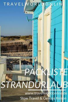 Packliste Strandurlaub - Ein Badeanzug, der schlanker macht, muss sein, oder? Hotels, Slow Travel, Travel Agency, Beautiful Islands, Roadtrip, City, Resorts, Nature, Fun