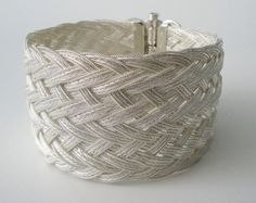 OOAK Bracelet  by timA  Custom Made to Order  by timAsArtStudio, $1399.90    ~~~ I have this cuff bracelet and the work is amazing. The bracelet is so comfy you don't even realize your wearing it.