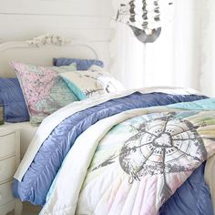 Junk Gypsy Follow Your Heart Quilt + Sham | PBteen