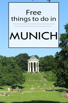 Free things to do in #Munich... by Packing my Suitcase.