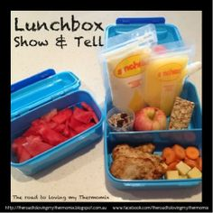 Lunchbox Show and Tell: Day 1