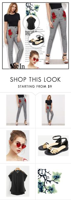 """shein # 5"" by begicdamir ❤ liked on Polyvore"