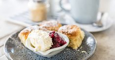 Here's How to Make the Royal Family's Garden Party Scones in Your Own Kitchen — PureWow Baking Videos, Baking Tips, Fruit Scones, Raspberry Scones, Afternoon Tea Recipes, Clotted Cream, Small Cake, Best Tea, Family Meals