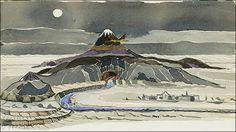 作者トールキン自身の手になる「ホビットの冒険」の未公開イラストレーションが発見される - DNA