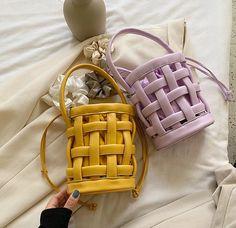 Bucket Handbags, Bucket Bags, Vintage Leather, Pu Leather, Leather Crossbody Bag, Crossbody Bags, Womens Designer Bags, Types Of Bag, Shoulder Handbags