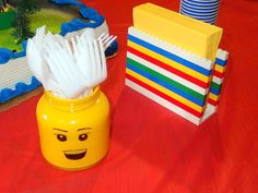 Jenni is here today giving us the details on a fun Lego Party that she threw for her son's birthday! I love colorful parties! Take it aw...