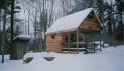 Cabin #5 with Outhouse