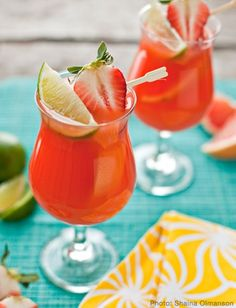 Mardi Gras Foods: Tropical Hurricane-- but non alcoholic