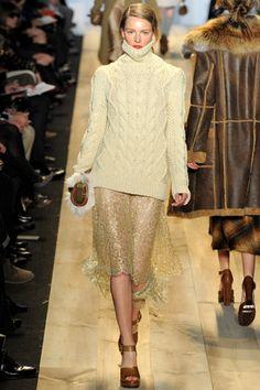 Fall 2012 RTW, Designer: Michael Kors, Model: Ieva Laguna