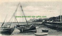 Dublin (North) - Howth - Dublin - Boats in Harbour Hurdy Gurdy, Emerald Isle, Vintage Photographs, Dublin, Old Photos, Islands, Boats, Centre, Irish