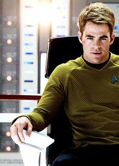 Star Trek - Into Darkness. I love me some Jim Kirk.