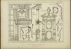English interior woodwork of the XVI, XVII, & X...