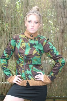Cotton Camo jacket by FeralNZ