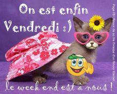 On est enfin Vendredi :) le week end est à nous !