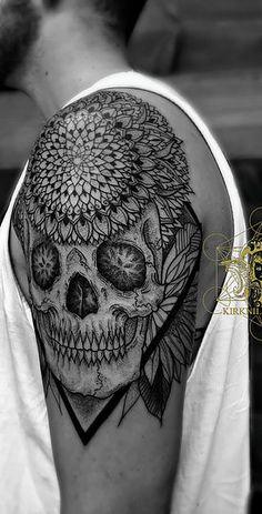 Mandalas, Geometric, dot work, black work, pointilism, henna and sacred geometry tattoos in New Jersey, Los Angeles and Philadelphia.