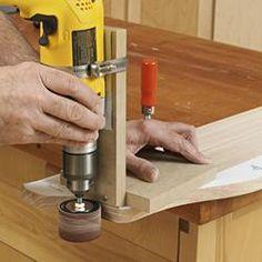 Portable Drum-Sander Jig Woodworking Plan, Workshop & Jigs Jigs & Fixtures Workshop & Jigs $2 Shop Plans