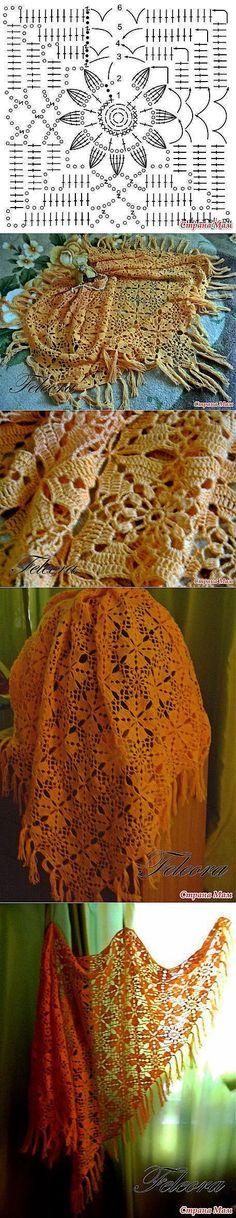 Crochet Shawl: