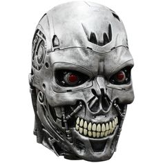 #BFCM #CyberMonday #Trendy Halloween - #Ghoulish Productions Terminator Genisys Deluxe Endo Skull Mask - AdoreWe.com