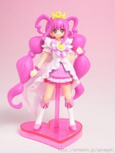 Princess Happy - Smile Precure! - バンダイ食玩 スマイルプリキュア! プリキュアプリンセスフォームキューティーフィギュア レビュー