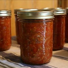 Made a batch of this and it is one of the best salsas I have ever made Zucchini Salsa, Canned Recipe