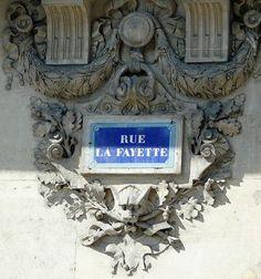 La rue La Fayette  (Paris 9ème/10ème)