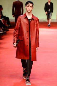 Dolce & Gabbana Spring 2015 Menswear - Collection - Gallery - Look 1 - Style.com