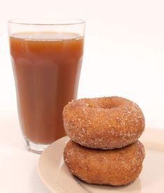 When you can't get to the orchard, use fresh apple cider to make lightly tangy apple cider donuts at home.