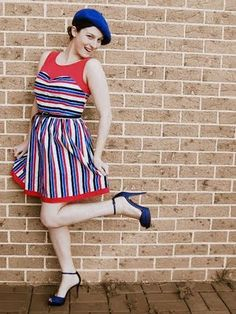 Bastille day look Happy Bastille Day, Culture, Vintage, Style, Fashion, Red White Blue, Swag, Moda, Fashion Styles