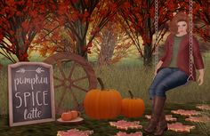 Confessions of a Second Life Shopaholic: Pumpkin Spice Latte