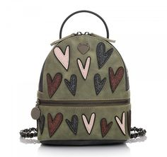 ΓΥΝΑΙΚΕΙΕΣ ΤΣΑΝΤΕΣ BACKPACK LE PANDORINE (ARMY GREEN) Army Green, Fashion Backpack, Backpacks, Bags, Women, Handbags, Backpack, Backpacker, Bag