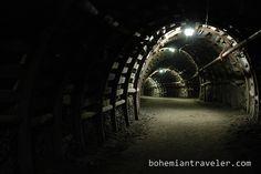going deep inside a coal mine in Poland
