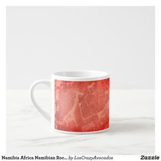 Namibia Africa Namibian Rock Art Painting Espresso Cup