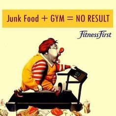 Junk food and fast food. Home cooked healthy meals are the best! Weight Loss Motivation, Fitness Motivation, Fitness Diet, Health Fitness, Fitness Memes, Pre Workout Supplement, Workout Memes, Workouts, Gym Quote