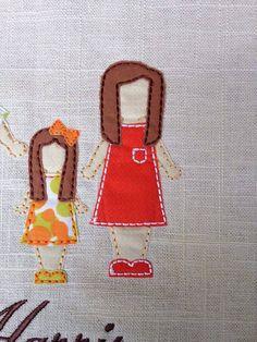 Bridget My Family Photo Applique DIGITAL Embroidery Design  5