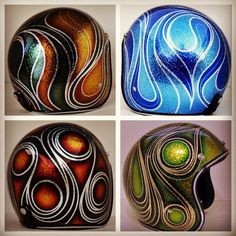 Chemical Candy Customs Helmets